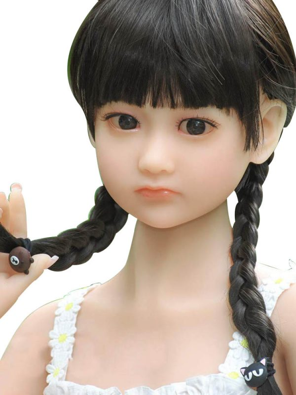Cuihua – 4′ silicon baby doll sex girl little size toy