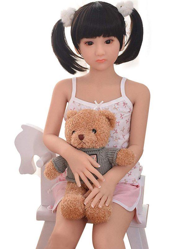 Nanako – 4′ little girl sex dolls series TPE good quality doll