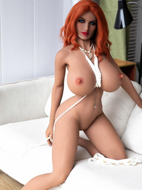 Nanncy – 5'2″ 158 cm huge boobs sex doll in red hair