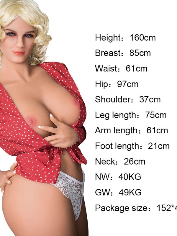 Lydia – 5'3″ 160 cm rubber sex doll