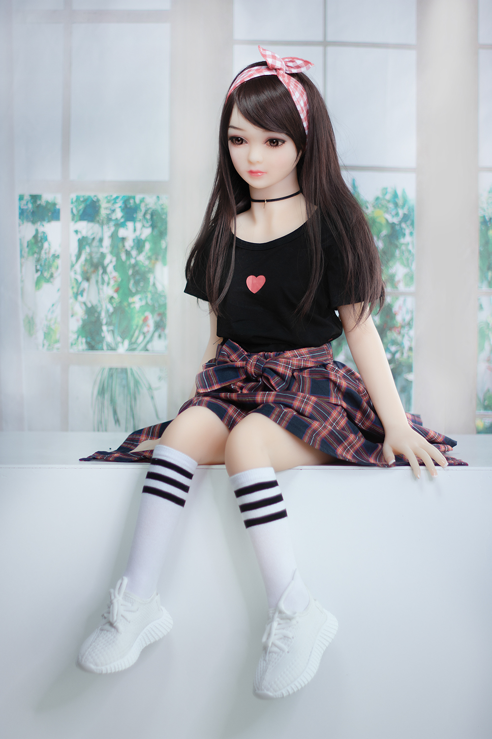 flat chest love doll sex with 100cm height - Techove Doll