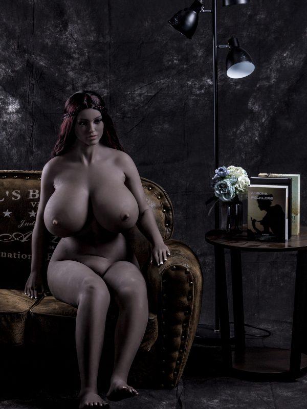 Anslow – 5'5″ 165 cm big boob african sex doll