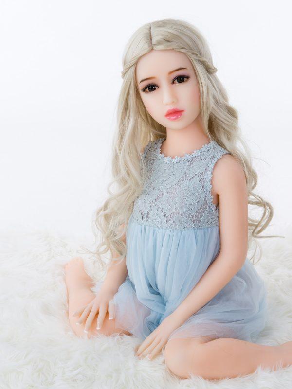 Cali  – 3'3″ 100 cm sex doll 100cm flat chest