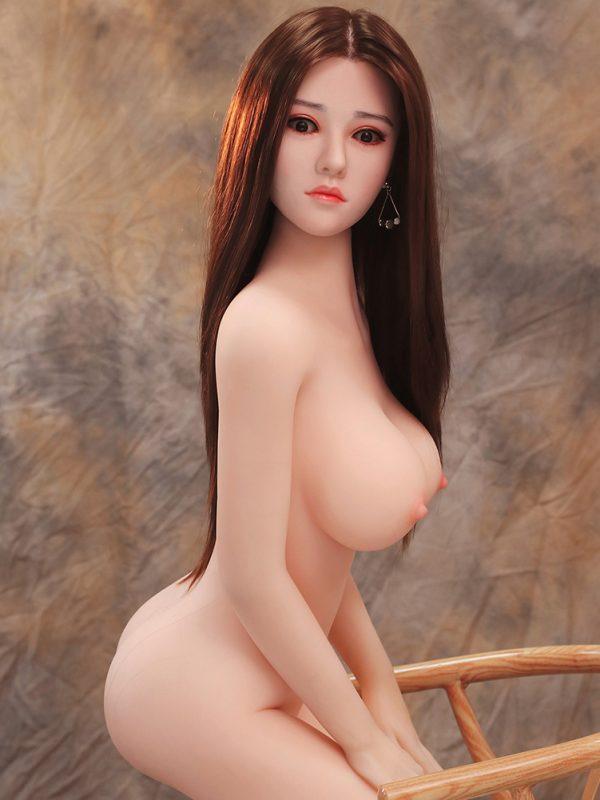 Silver – 5'2″ 158 cm silikon sex dolls for sex
