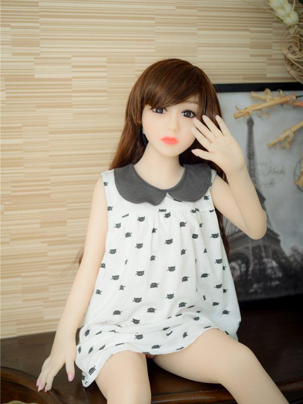 Angel Mini – 3'6″ 107 cm flat sex doll silicon