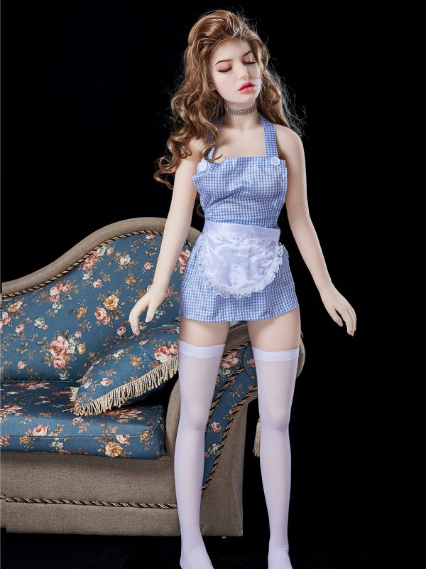 Aurora Mini- 4'9″ 145cm full silicone real sex doll