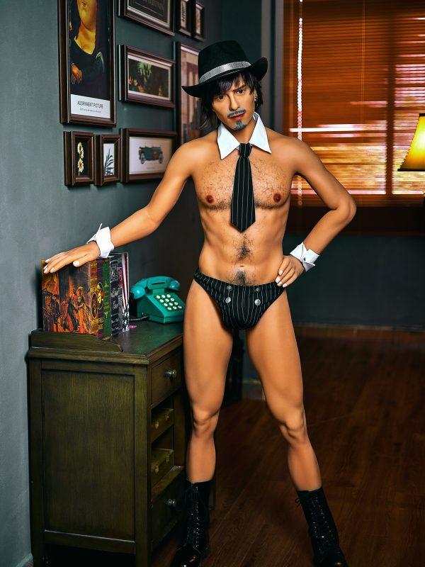Jorge – 5'9″ 175 cm full body silicone sex doll male