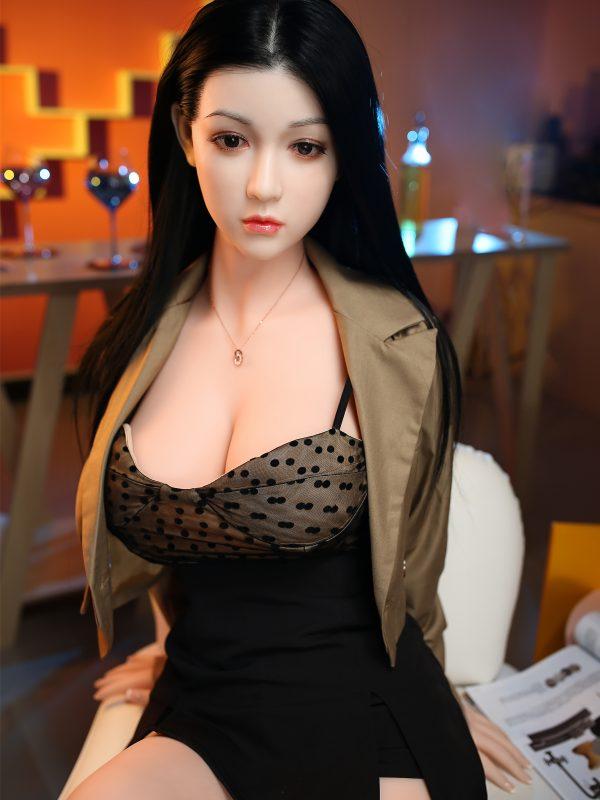 """Ayu – 5'5"""" 165 cm sex silicon doll chin"""