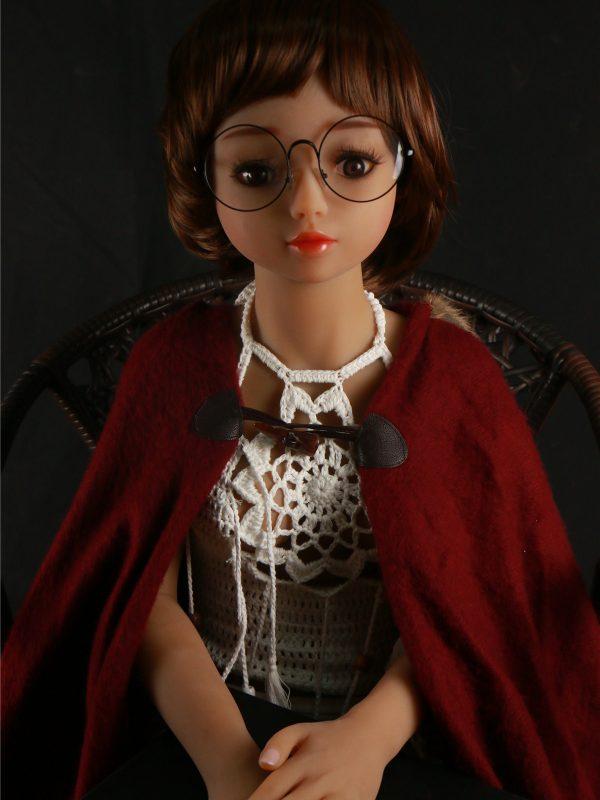 Dina – 4'2″ 128 cm sex doll hair em